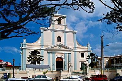 Photograph - Arecibo Cathedral by Ricardo J Ruiz de Porras