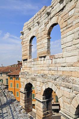 Photograph - Arena Di Verona Italy by Matthias Hauser