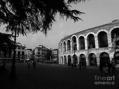 Arena Di Verona Art Print