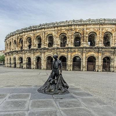 Photograph - Arena Of Nimes by Jenny Hudson