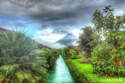 Arenal Photograph - Arenal by Andrew Nourse