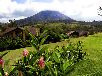 Photograph - Arenal Costa Rica by Kurt Van Wagner