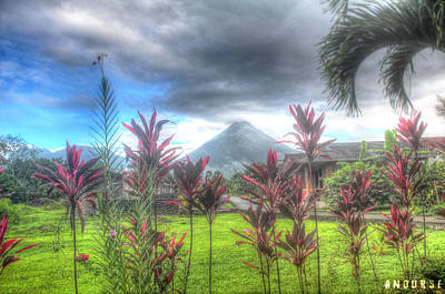 Arenal Photograph - Arenal Volcanoe by Andrew Nourse