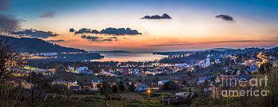 Photograph - Ares Estuary View From Cabanas Galicia Spain by Pablo Avanzini