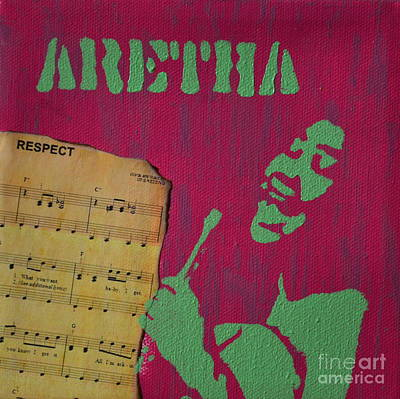 Painting - Aretha by Laura Toth