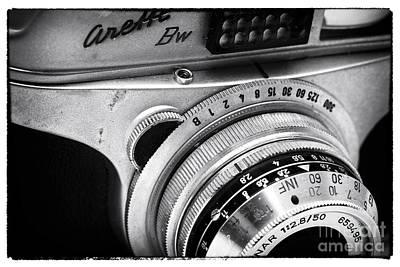 Photograph - Arette Camera by John Rizzuto