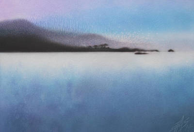 Painting - Argent Calm by Robin Street-Morris