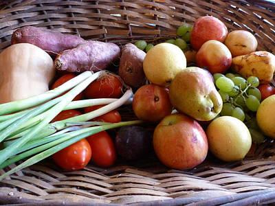 Ben Weinberg Photograph - Argentina Mendoza - La Tupina Bistro Fruits And Vegetables by Benjamin Weinberg
