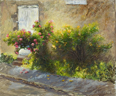 Rafferty Painting - Argenton Roses by Jason Rafferty