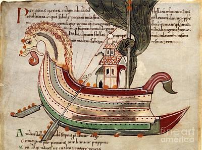Argo Navis Constellation, 11th Century Art Print by British Library
