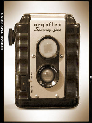 Film Camera Photograph - Argoflex 75 by Mike McGlothlen