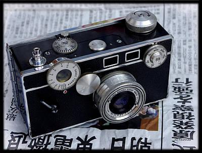Photograph - Argus C3 Brick Camera by James C Thomas