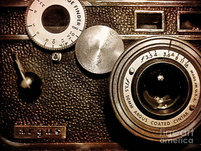 Photograph - Argus - Vintage Camera by Colleen Kammerer