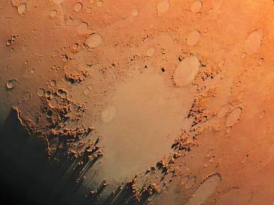 Argyre Impact Basin Print by Detlev Van Ravenswaay