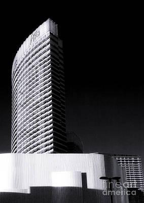 Aria Photograph - Aria Las Vegas by John Rizzuto