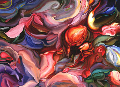 Aria - Acrylic On Canvas Art Print