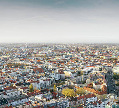 Photograph - Arial View Of City by Guido Mieth