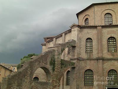 Photograph - Arian Baptistry Ravenna by Deborah Smolinske