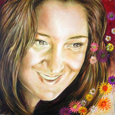 Painting - Ariana's Portrait by Karina Llergo