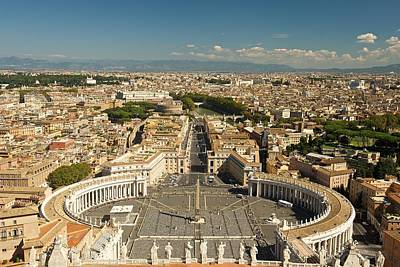 Photograph - Ariel Image Of Rome by Stephen Taylor