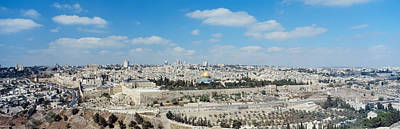 Western Wall Photograph - Ariel View Of The Western Wall by Panoramic Images