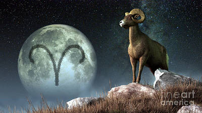 Aries Is The First Astrological Sign Art Print