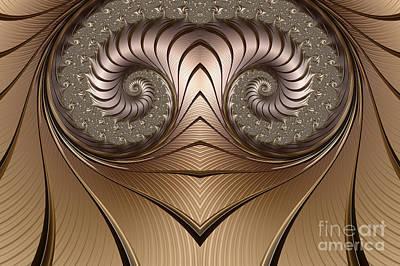 Planar Digital Art - Aries by John Edwards