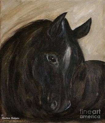 Art Print featuring the painting Arion by Barbie Batson