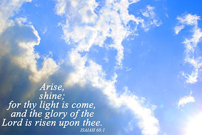 Photograph - Arise And Shine by Stephanie Grooms