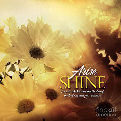 Photograph - Arise Shine by Shevon Johnson