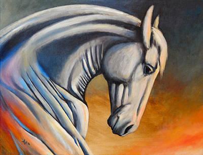 Strength Painting - Arisen by Arie Van der Wijst