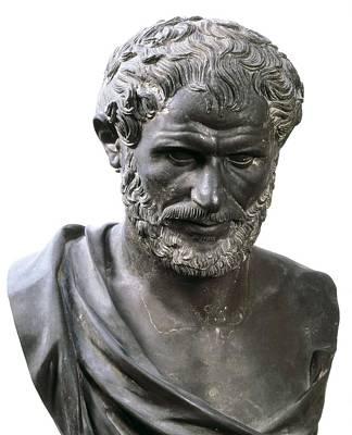 Aristotle 384-332 Bc. Roman Art Art Print