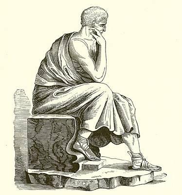 Aristotle Art Print by English School