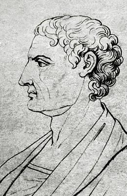 Aristotle (stagira, 384 Bc - Chalcis Art Print by Prisma Archivo