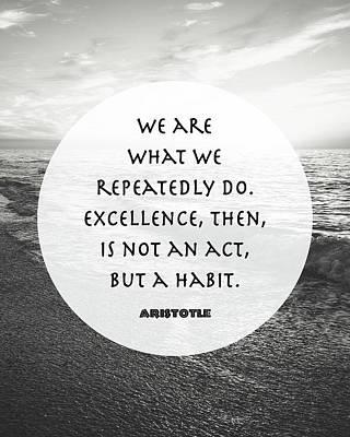 Aristotle - We Are Art Print by Tara Moss