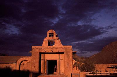 Shootist Photograph - Arizona Adobe Mission Church 1939-1995 by David Lee Guss
