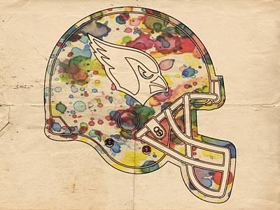 Football Painting - Arizona Cardinals Poster Art by Florian Rodarte