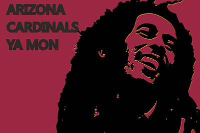 Arizona Cardinals Ya Mon Print by Joe Hamilton