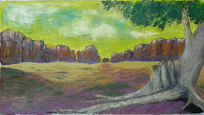 Painting - Arizona Cathedral by Ernie Goldberg