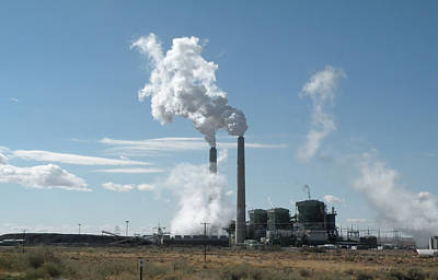 Photograph - Arizona Coal Power by Becky Erickson