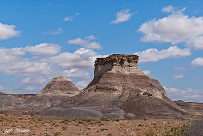 Art Print featuring the photograph Arizona Desert And Mesa by Jeff Goulden