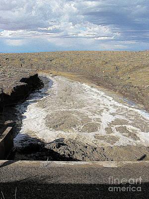 Photograph - Arizona Desert Flash Flood by Merton Allen