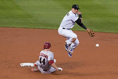 Photograph - Arizona Diamondbacks V Colorado Rockies by Dustin Bradford