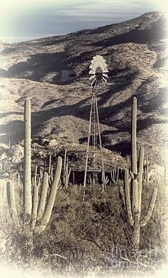 Rincon Mountains Wall Art - Photograph - Arizona Dry by Henry Kowalski