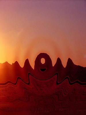 Arizona Formations Print by Dennis Buckman
