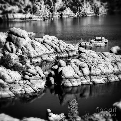 Arizona Granite 2 Art Print by Lee Craig