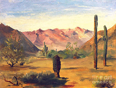 Painting - Arizona High Desert by Art By Tolpo Collection