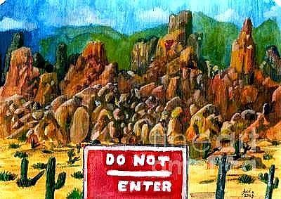 Painting - Arizona II by Jose Breaux