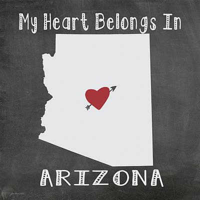 Arizona Art Print by Jo Moulton