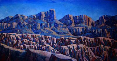 Arizona Landscape At Sunset Art Print by Dan Terry